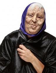 Gammel Kone Maske i Latex Voksen