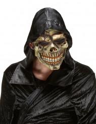 Helvedets Dødningehoved-maske i Latex Halloween Voksen