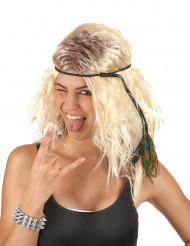 Blond Popstjerne-paryk Kvinde