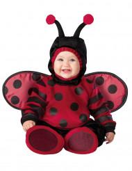 Premium rød mariehøne - baby udklædning