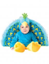 Premium påfugl - baby udklædning