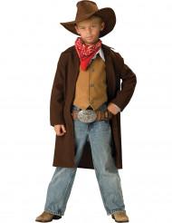 Kostume cowboy til børn - Premium