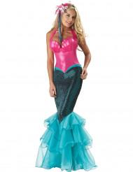 Premium havfrue - udklædning voksen