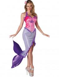 Udklædning havfrue voksen - Premium