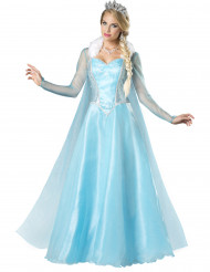 Kostume sneprinsessen til kvinder - Premium