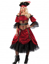 Udklædning Pirat kvinde - Premium