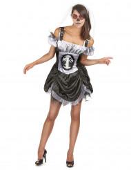 Chic kostume skelet voksen halloween