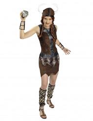 Kostume kriger viking kvinde