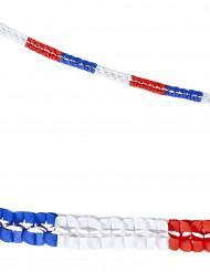 Papirs guirlande i de franske favrer