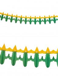 Papirguirlande kaktus 3m