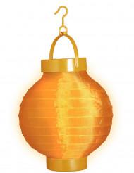 Orange lanterne 15 cm