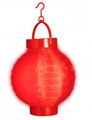 Lygte med rødt lys 15 cm