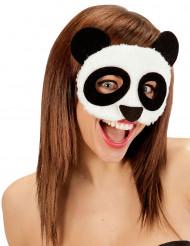 Blød Pandamaske Voksen