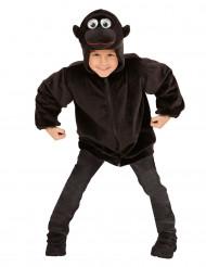 Jakke med hætte gorilla til børn