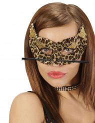 Leopardmaske Kvinde