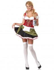 Oktoberfestkjole kvinde kostume