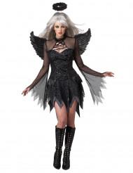 Udklædning falden engel kvinde halloween