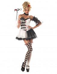 Flot harlekin kostume kvinde