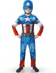 Klassisk kostume Captain America™ barn - Avengers™