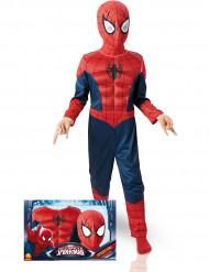 Udklædningsdragt deluxe 3D EVA Spiderman™ barn