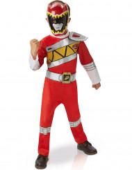 Udklædningsdragt deluxe rød Power Rangers™ barn