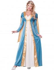 Elegant dronningekostume til voksne