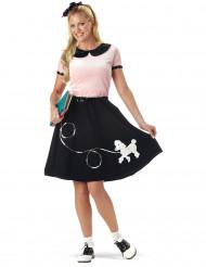 Udklædning Sort/pink 50