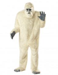 Udklædning den afskylige snemand yeti voksen