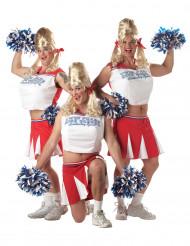 Sjovt cheerleader-kostume