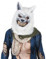 Hvid ulvemaske