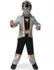 Kostume sølv 3D EVA Power Rangers™ barn