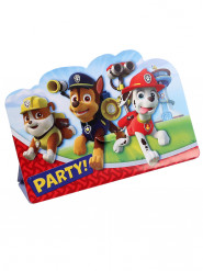 8 Invitationskort med kuverter Paw Patrol