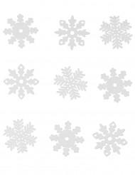 9 stk snefnug til vinduet