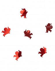 Bordkonfetti julemand rød 10 gram