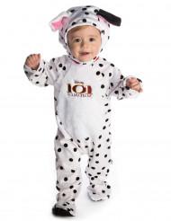 Kostume til babyer heldragt med plyshætte 101 Dalmatinere™
