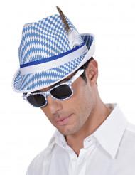 Blå og hvide briller voksen
