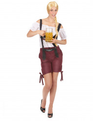 Kostume tyroler shorts bordeaux