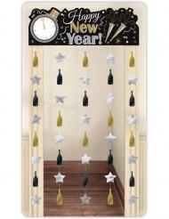 Dekoration til dør Happy New Year