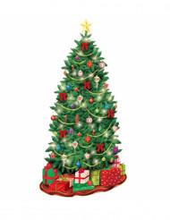 Dekoration juletræ til væg jul
