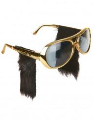 Solbriller rocker med bakkenbart