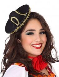 Diadem med mexicansk mini-hat