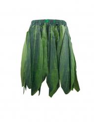 Hawaii-nederdel med grønne blade