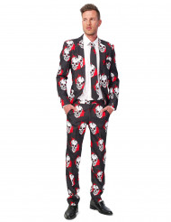 Blodigt dødningehovedkostume Suitmeister™ mand Halloween