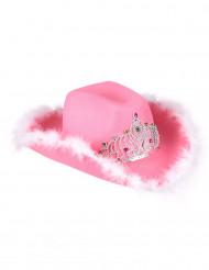 Cowgirl hat Lyserød