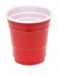 20 Shotglas 4 cl rød