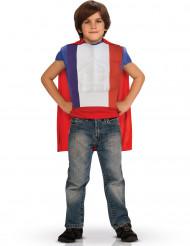 Superhelt i de franske farver til børn