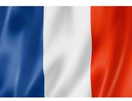 Fransk flag- 90 x 60 cm.