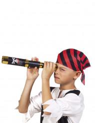 Kikkert sort pirat 32 cm til børn