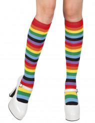 Strømper regnbue til kvinder