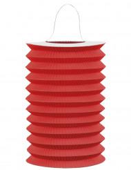 Lanterne rødt papir